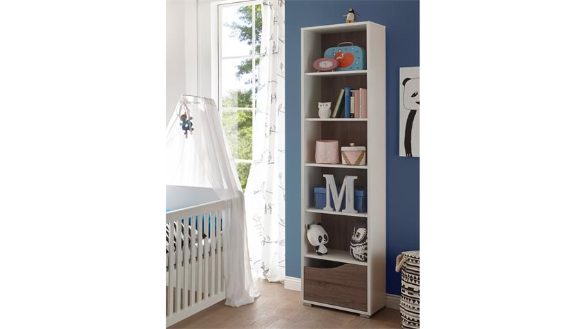 Standregal Babyzimmer MARRA Regal Bücherregal in weiß