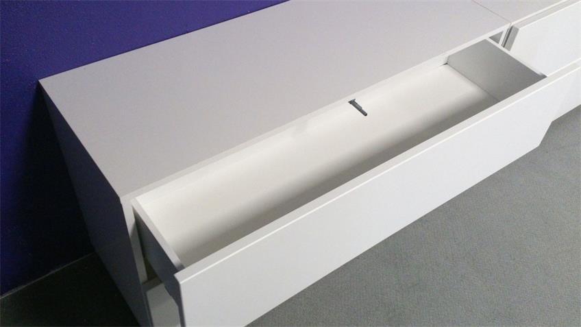 Anbauwand Bright Wohnwand Schrankwand graphit inkl. push-to-open