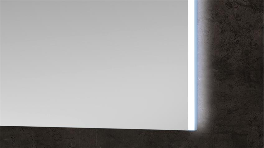 Spiegel BAYO Wandspiegel Flurspiegel mit LED und Bewegungsmelder 63x65