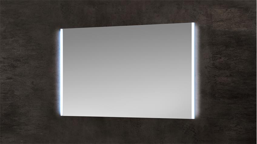 Spiegel BAYO Flurspiegel Wandspiegel inkl. LED Bewegungsmelder 103x65