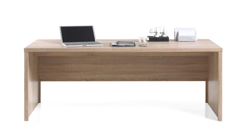 Schreibtisch FACT Computertisch Büromöbel in Sonoma Eiche 160x75 cm