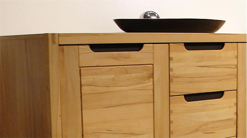 sideboard kernbuche teilmassiv kommode colorado. Black Bedroom Furniture Sets. Home Design Ideas