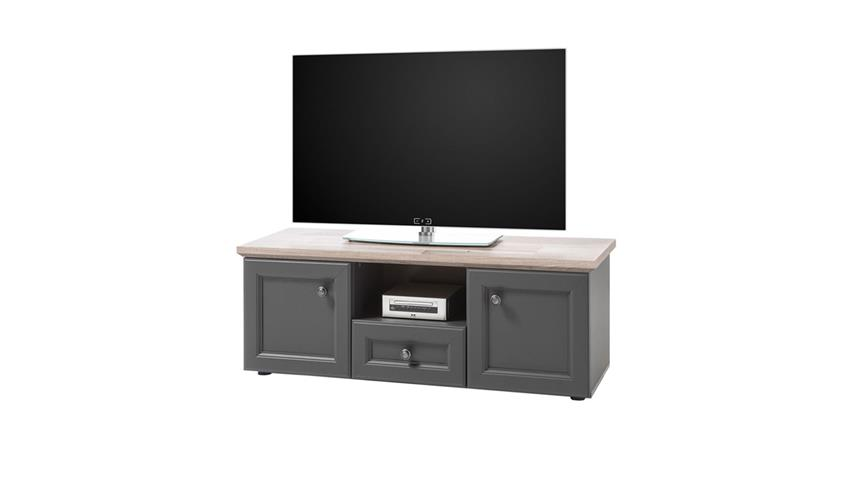 TV-Board TOSKANA Lowboard Kommode grau Timber Wood 120