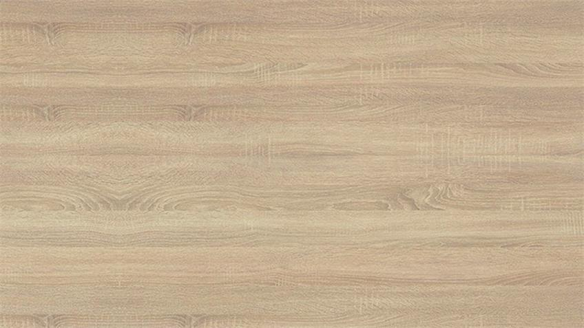 Bett MARTINA Sonoma Eiche weiß 140 x 200  mit Matratze Rollrost