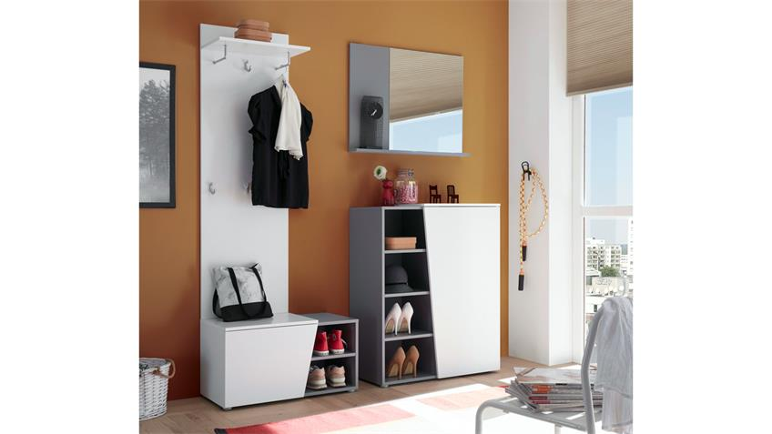 Wandspiegel LINE Spiegel Garderobenspiegel in silber