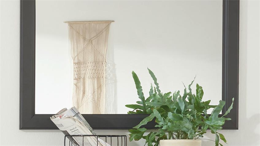 Wandspiegel TOSKANA Spiegel grau Timber wood 98x91 cm