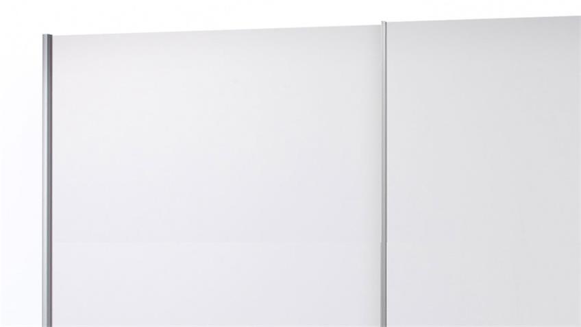 Kleiderschrank PULS 2-trg. Schrank in weiß und Beton