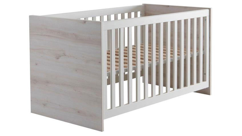 Babyzimmer CUBY Aurum weiß Babyzimmer Schrank 2-teilig