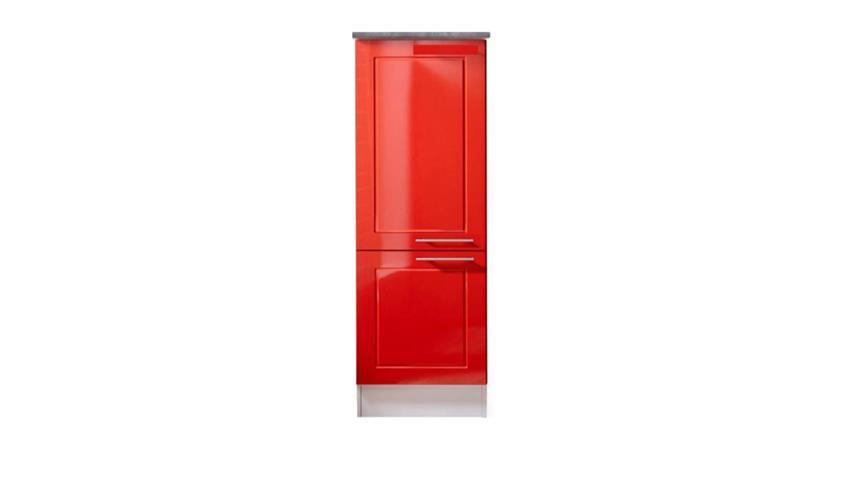 Vorratsschrank VALENZIA 2 Hochglanz rot 50 cm