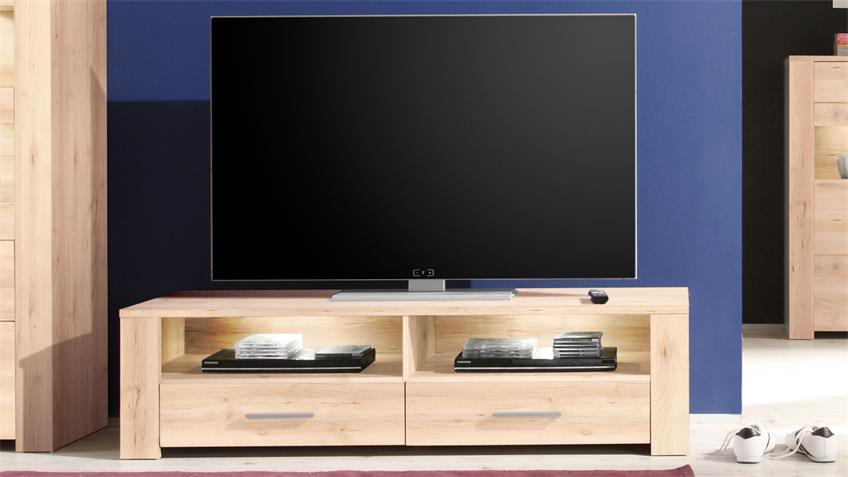 TV-Board TIME Edelbuche Lowboard 150 cm