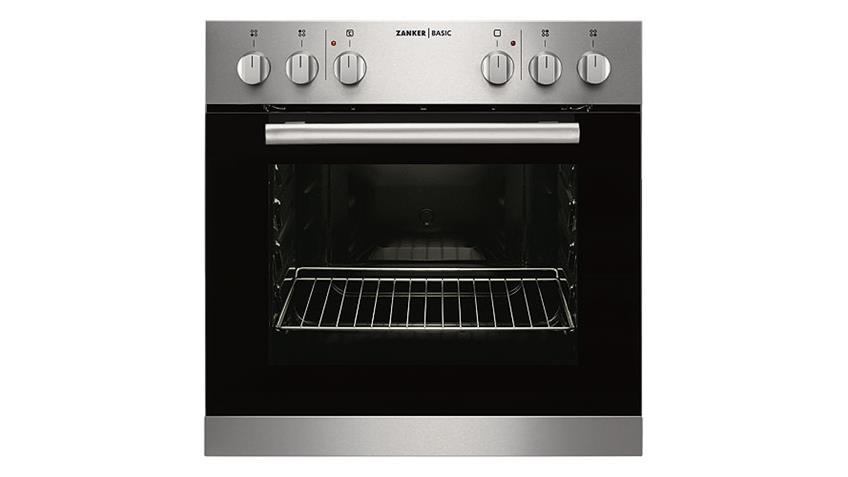 Küchenzeile AVANT 1 in Akazie & Glitterstone schwarz rechts inkl. Geräte