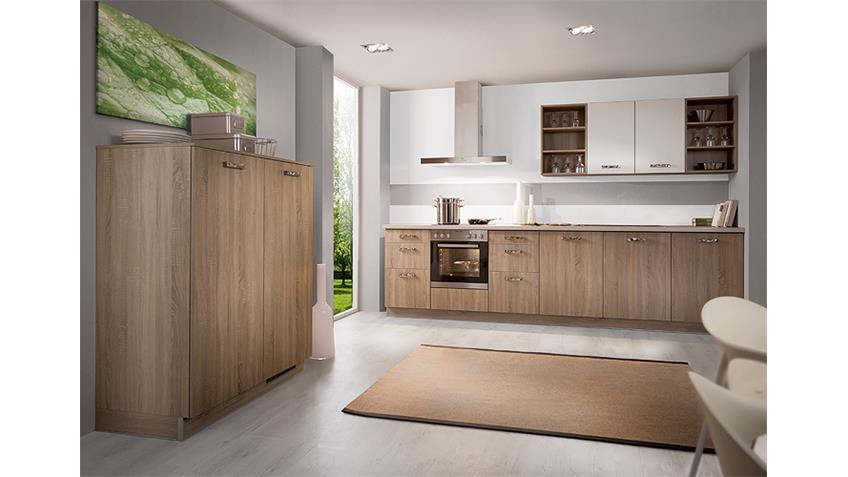 Brigitte Einbauküche Küchenzeile inkl. E-Geräte 1516