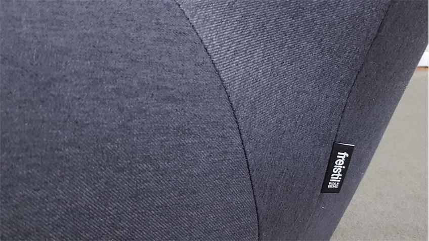 ROLF BENZ freistil 171 Sessel Pandabär schwarzgrau Ecken telegrau