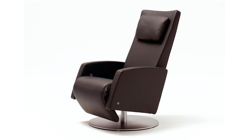 rolf benz funktionssessel 5800 leder 60 dunkelbraun. Black Bedroom Furniture Sets. Home Design Ideas