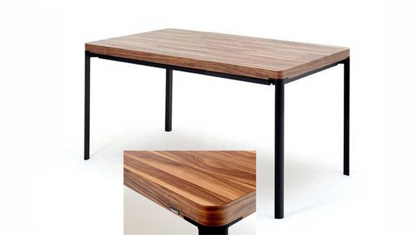 Esstisch Freistil 197 Nussbaum 160x92 cm Tisch von ROLF BENZ