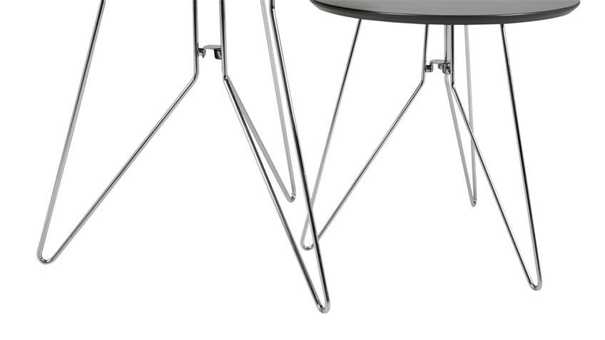 Couchtisch MOLLY 29 Tisch 2er Satztisch anthrazit grau