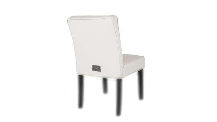 Husse DANIA Stuhlhusse Sitzbezug Stuhlbezug Stuhlüberzug Stoff beige