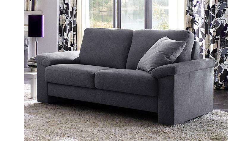 Sofa mobile 2 sitzer stoff dunkelgrau breite 182 cm for Couch dunkelgrau