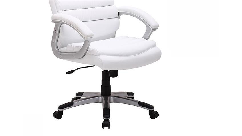 Chefsessel CENO Bürostuhl Drehstuhl Schreibtischstuhl weiß