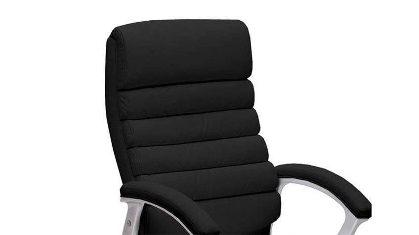Chefsessel CENO Bürostuhl Drehstuhl in schwarz
