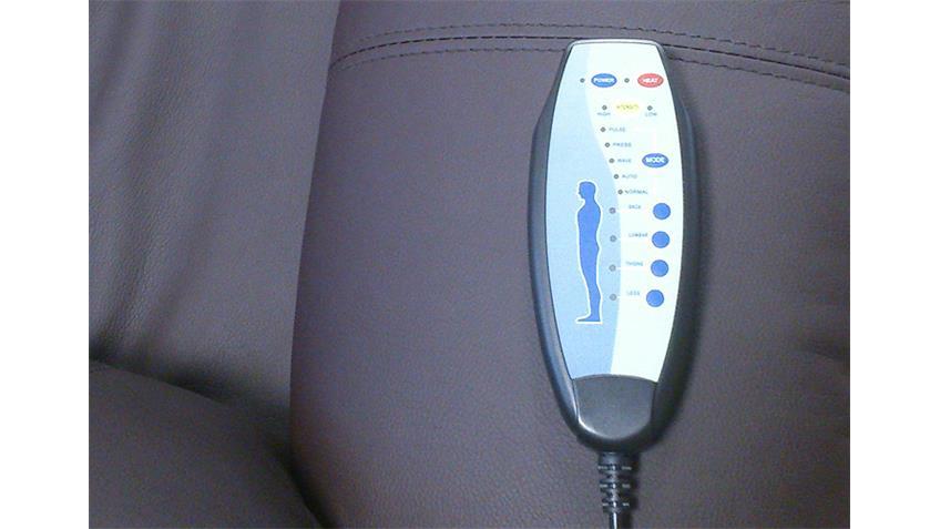 TV Sessel LAKOS Braun inkl. Vibrationsmassage Heizung
