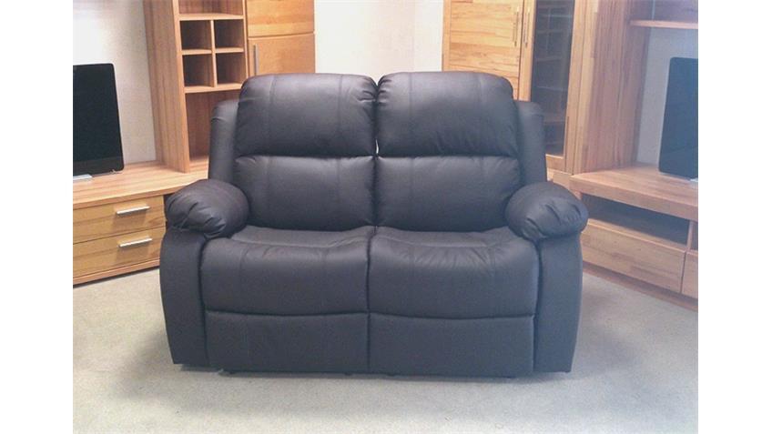 Sofa LAKOS 2 Sitzer Polstermöbel in braun mit Funktion