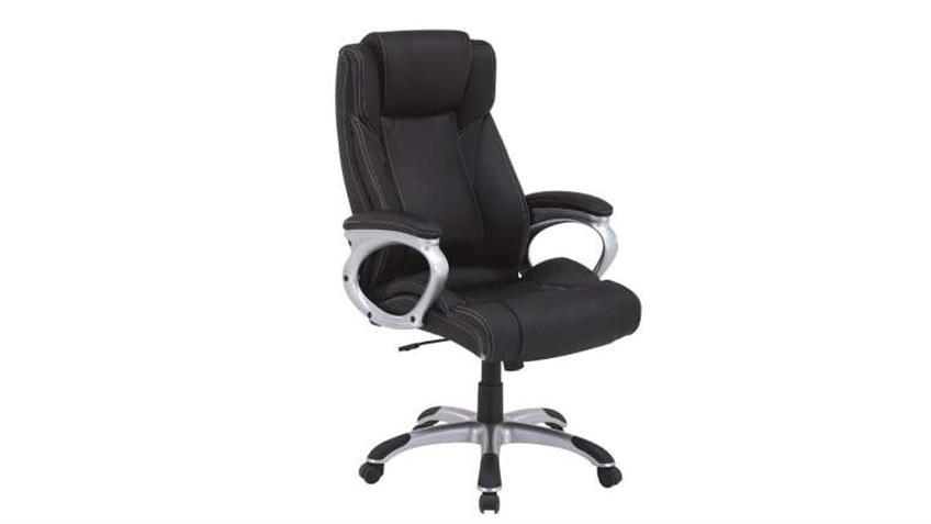 Drehsessel FEMO Bürostuhl Chefsessel schwarz belastbar bis 150kg