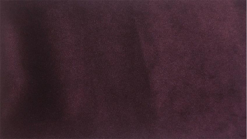 Ecksofa SIXTY Eckgarnitur rechts Stoff Velour purple lila 300x175 cm