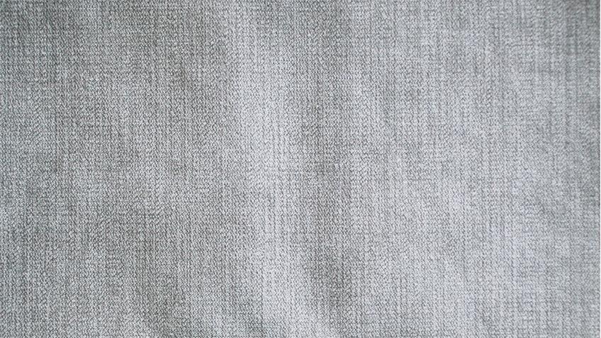 Wohnlandschaft COAST Eckgarnitur Stoff silber Federkern 164x324x220 cm