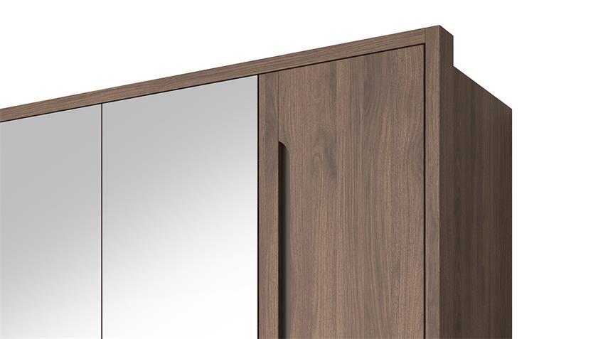 Kleiderschrank TRIPOLI in Michigan Walnuss 181 cm