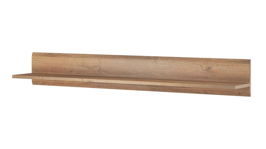 Wandboard TULSA Regal 180 cm in Grandson Eiche Dekor