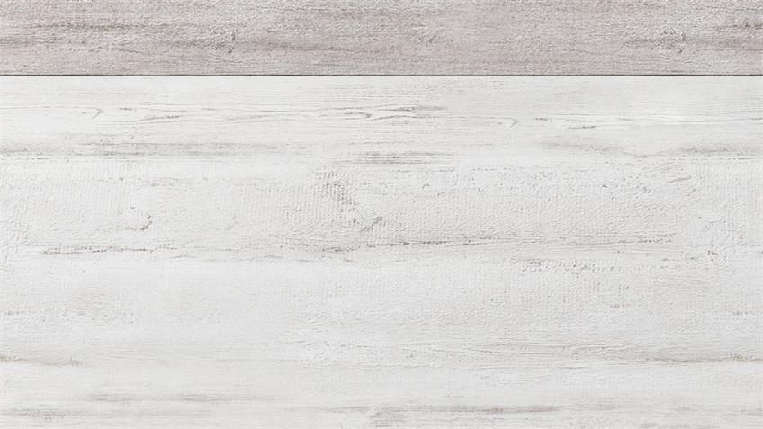Bettanlage CAROLIN Canyon Arctic Pine hell weiß 180x200 cm