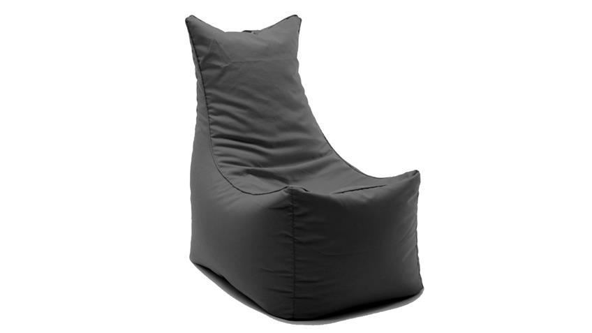 Sitzsack Sitting Bull Cubic Seat Sitzkissen Indoor anthrazit