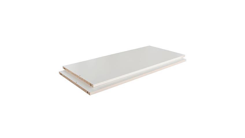 Einlegeboden 2er Set NICOLE 118x51 cm für Kleiderschrank