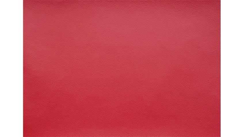 Sofa Garnitur CARRIER Polstermöbel mit Relaxfunkion in rot
