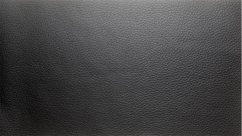 Ecksofa BURNER II Wohnlandschaft Sofa Leder Teilleder schwarz 244x174