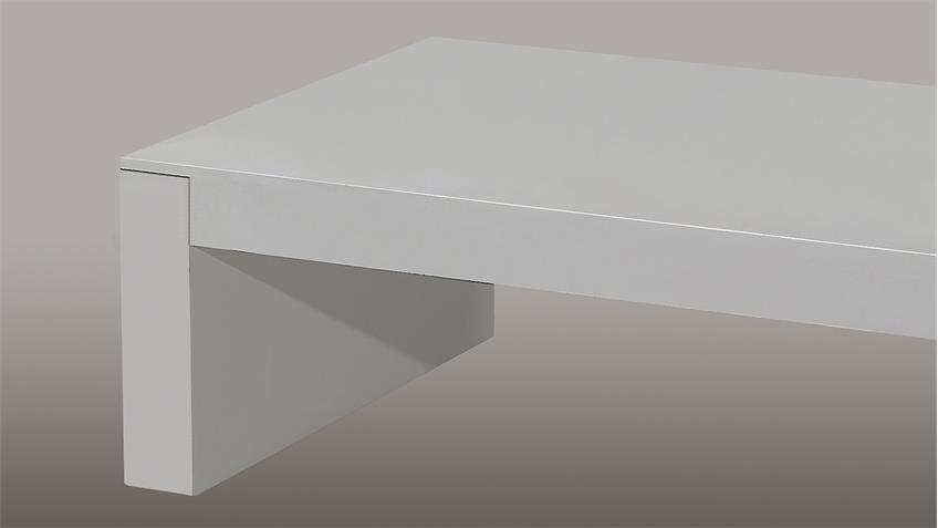 Couchtisch CONCRETE III in Betonfarbe 110x65 cm