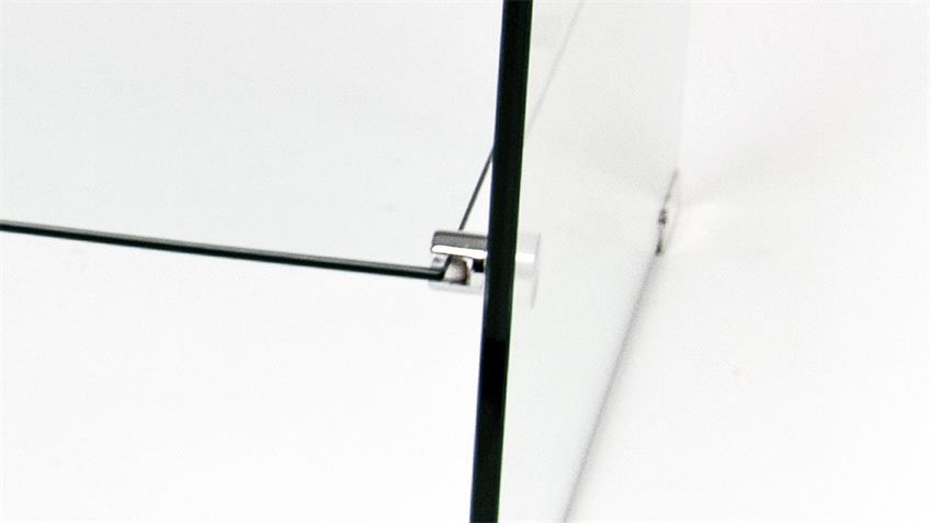 TV-Rack WILLI aus ESG Glas 10 mm TV-Board mit Ablage