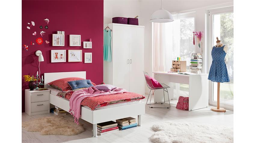 Jugendzimmer SOFT PLUS Kinderzimmer in  weiß von CS Schmal
