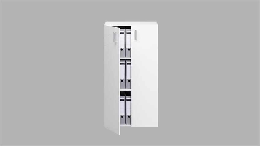 Kommode TROS Aktenschrank Sideboard in weiß von CS Schmal
