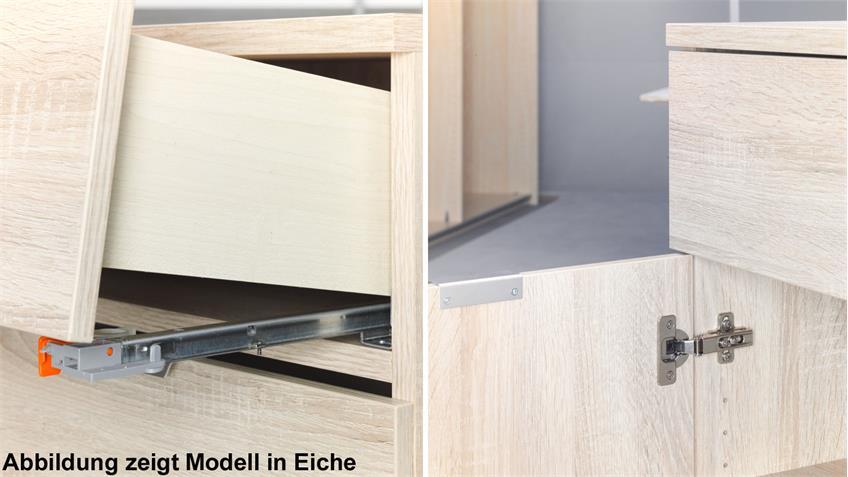 Sideboard Compleo Mehrzweckschrank in Weiß von CS Schmal