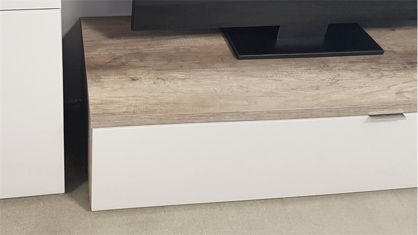 TV Board  Cleo 11 Wildeiche Sandglas von CS Schmal 163 cm breit