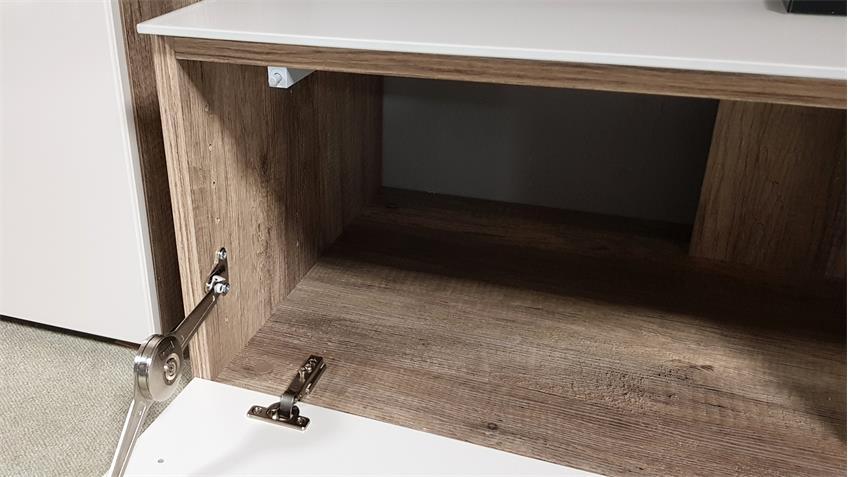 tv board wildeiche sandglas cleo 11 von cs schmal 163 cm breit. Black Bedroom Furniture Sets. Home Design Ideas