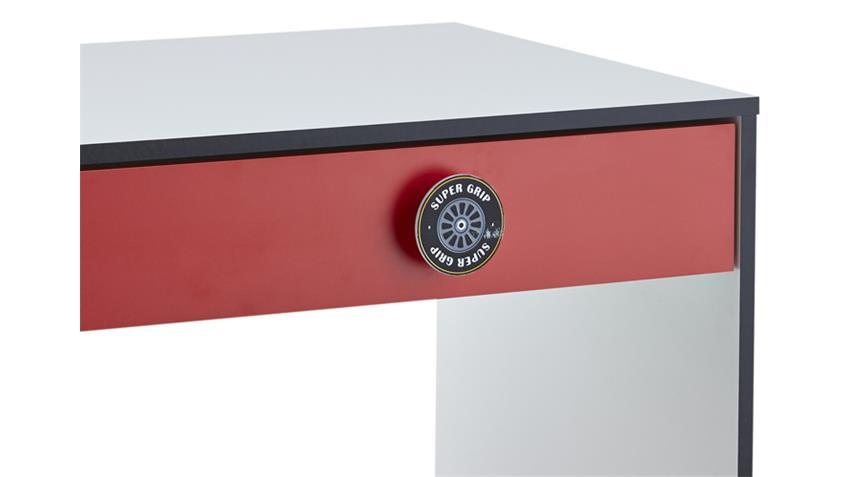 Schreibtisch Kinderzimmer ROCKET Formel 1 Design 94x50 cm