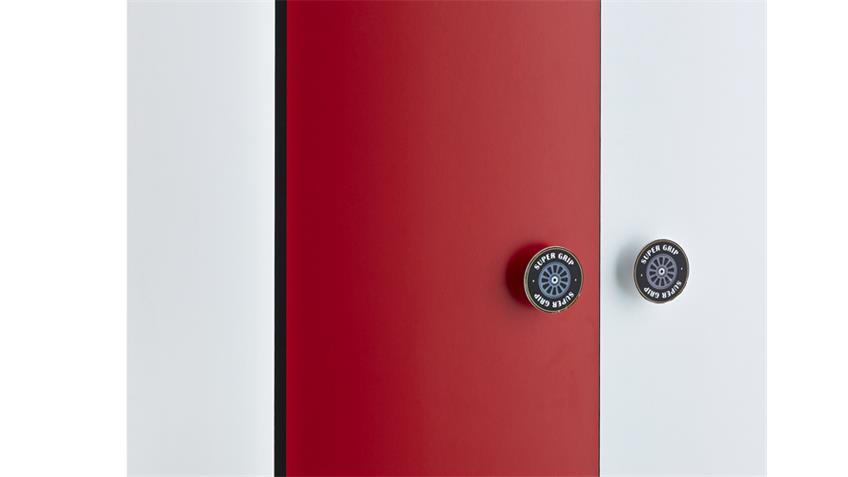 Kleiderschrank Kinderzimmer ROCKET Formel 1 Design 2-türig