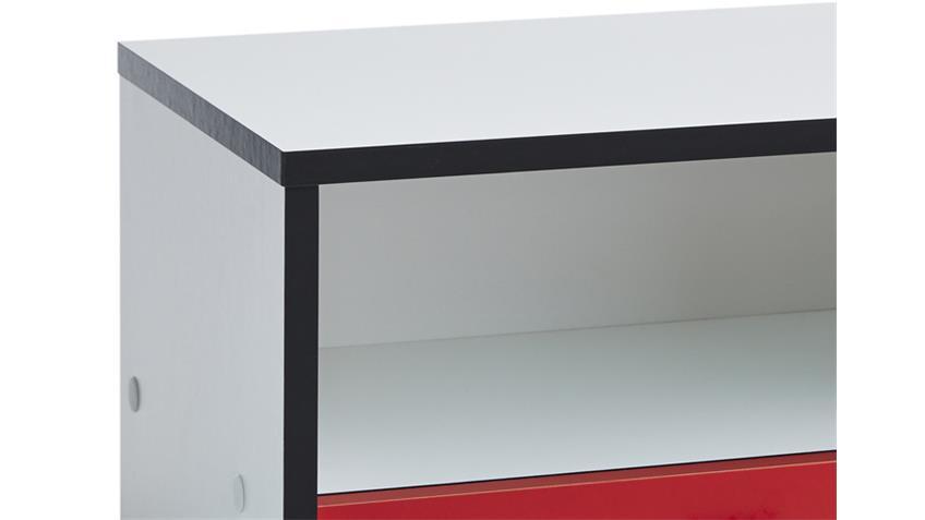 Nachttisch Kinderzimmer ROCKET Formel1 Design 1 Schubkasten