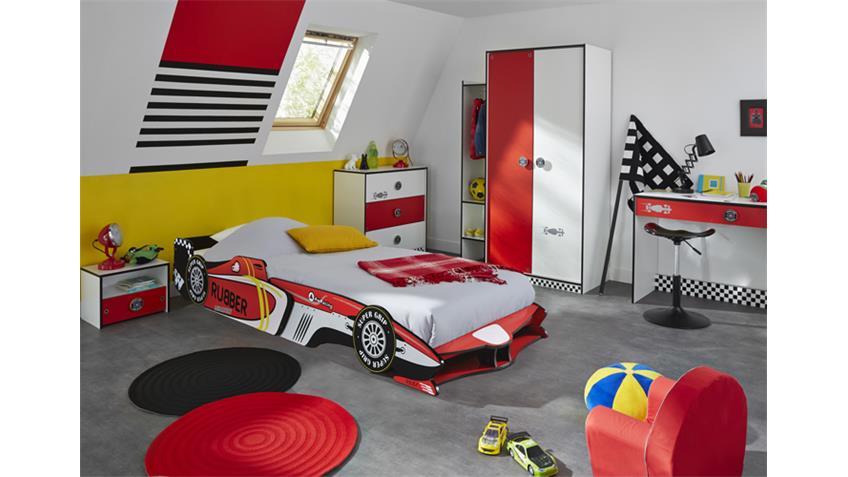 Kinderzimmer ROCKET Rennwagen Formel 1 Design 5-teilig