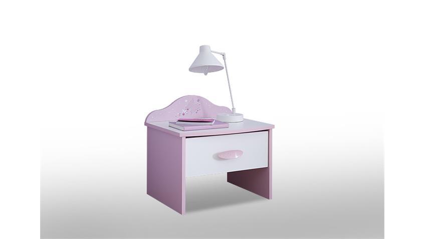 Kinderzimmerset 3 Tlg. Papillon orchidee rosa weiß Spiegel