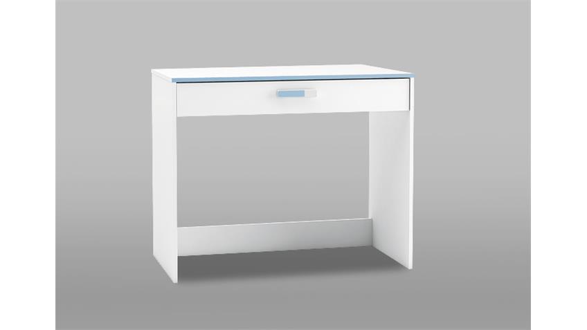 Schreibtisch SWITCH Computertisch in weiß rosa oder blau