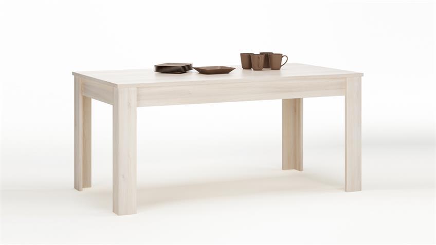 Esstisch RUBIS Tisch Esszimmertisch in Akazie 90x170